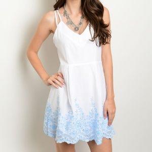 Dresses & Skirts - Eyelet Embroidered Sundress